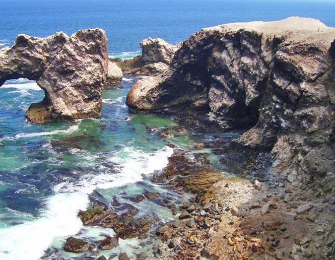 playas costeras rocosas